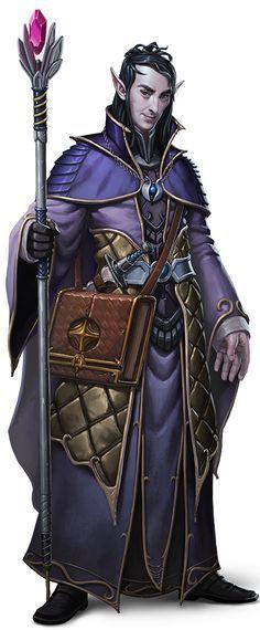 Resultado de imagem para d&d wizard