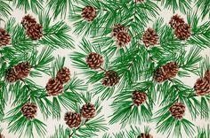 Vintage Gift Wrap - Pine
