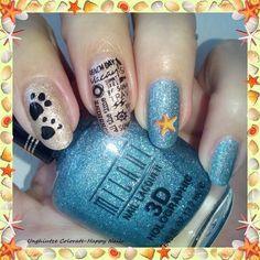 Unghiutze colorate-Happy nails: Nail Art Marathon-13.Beach Scene