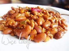 Chilis bab - Anya főztje Chilis, Chana Masala, Food And Drink, Ethnic Recipes, Chili, Chile
