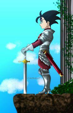 zeldris by on DeviantArt Seven Deadly Sins Anime, 7 Deadly Sins, Otaku Anime, Anime Manga, Anime Black Hair, Cosplay Sword, Mangekyou Sharingan, 7 Sins, Seven Deady Sins