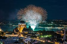 Planifier vos vacances à Québec lors des Grands Feux Loto-Québec !