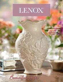 Lenox catalog - Lenox collections and dinnerware