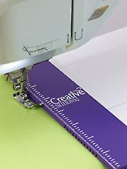 """New Quilt Supplies - Flexible Seam Guide with 1/4"""" Foot   Annie's Craft Store"""