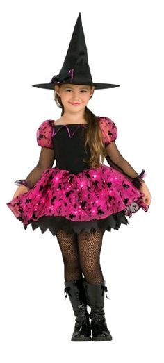 UHC Girl's Moonlight Magic Witch Toddler Fancy Dress Child Halloween Costume, >>> For more information, visit Kids Witch Costume, Halloween Costumes For Girls, Girl Costumes, Halloween Kids, Spirit Halloween, Little Girl Witch Costume, Halloween Dresses For Girls, Girls Dresses, Light Up Costumes
