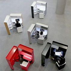 office-furniture-workstation Coolest #Office #Cubicle design