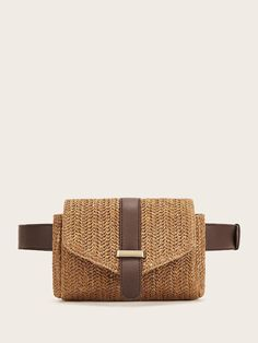 To find out about the Straw Detail Flap Fanny Pack at SHEIN, part of our latest Bum Bags ready to shop online today! Waist Purse, Best Purses, Coffee Pods, Coffee Beans, Womens Fashion Online, Medium Bags, Online Bags, My Bags, Mini Bag