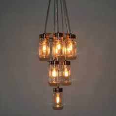 Bottle Chandelier | Decorating with Chandeliers | DivineNY.com