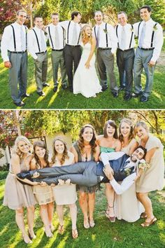 must-have wedding photos funny pictures withbridesmaids and grromsmen jodie szablowski photography #weddingphotographs