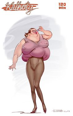 Behold, the Magic of spanx. Strangle yourself with fat..Lol just push it all upward...