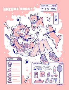 """T-Shirt design I did for a collab 🌸🌸🌸"" Shiba, Drawing Reference, Cute Art, Pixel Art, Anime Art, Manga Art, Vibrant Colors, Art Drawings, Illustration Art"