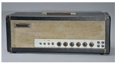 1962 MARSHALL JTM45 #1. Once Plexi centered & it became Model 2245. Similar to BASSMAN.. actually very different! Three EC83, One GZ34,Two 5881((switching to KT66 later in year)).... Coupling Capacitors at OUTPUT Stage instead ((adding more negative Feedback)) MARHSALL used RADIOSPARES Brand Transformers, by late 1964 they switched to DRAKE.