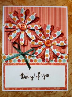 Stampin Up Daisy Delight and the phrase comes from Climbing Orchid