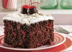 Cherry cola in a cake? Uh, yes.