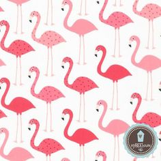 Robert+Kaufman+Flamingi+w+myBEEhouse+na+DaWanda.com