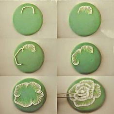 Lots of tutorials here in Spanish, lots of photos Polymer Clay Canes, Polymer Clay Flowers, Polymer Clay Pendant, Fimo Clay, Polymer Clay Projects, Polymer Clay Creations, Polymer Clay Earrings, Clay Crafts, Polymer Clay Embroidery