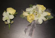 Yellow Prom Corsage