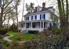 Maybe more of an American four square than Victorian, but still a cool house.