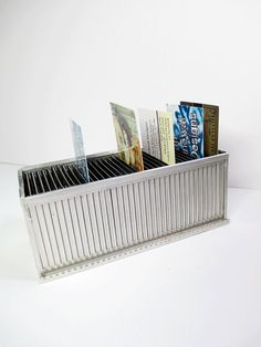 Vintage 35mm Slide Business Card Holder  by UrbanRenewalDesigns, $7.00