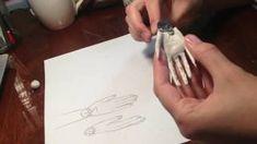 Силиконовые молды в изготовлении кукол. Флористика