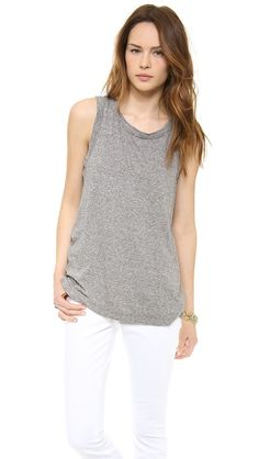 always love a good, soft muscle tee - know I need the muscles