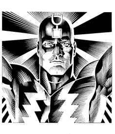 Black Bolt by Craig Hamilton