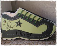 Chanettes kreative blog: Konfirmations sko til dreng