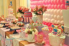 Festa Infantil, tema Alice no país das maravilhas