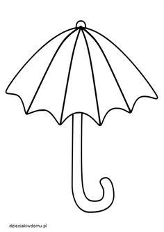 szablon parasola Techno, Origami, Autumn, Winter Time, Fall, Do Crafts, Origami Paper, Techno Music, Origami Art