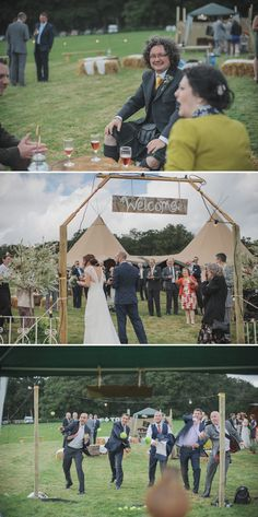 A Garden Fete style english rustic wedding with O Photogrpahy | Rock My Wedding