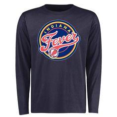 Indiana Fever Primary Logo Long Sleeve T-Shirt - Navy - $29.99
