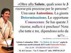 AUTOSTIMA - le 3 risorse più importanti degli esseri umani - Marina di Carrara…