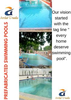 We are leading manufacturer of prefabricated swimming pools and filter in INDIA. Home owners enjoy our wide range of readymade fiberglass swimming pools all around INDIA. Swimming Pool Quotes, Fiberglass Swimming Pools, Filters, India, Hindi Quotes, Outdoor Decor, Range, Home, Fiberglass Pools