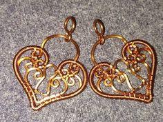 Hướng dẫn làm trang sức uốn dây đồng Cách làm mặt dây chuyền chiếc giày của cô bé Lọ Lem