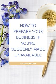 Anything can happen to you at anytime. As an entrepreneur or blogger, you want to make sure you have a contingency plan so that your business can still run (if it has to) in your absence. I talk about the information you should store just incase for easy access.