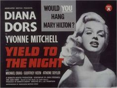 Although my ultimate idol Diana Dors was best known as a glamorous sex siren, it was for this film as murderess Mary Hilton (based on Ruth Ellis, whom Diana knew!) that she is best known. It is without doubt one of her best dramatic performances. I've seen it so many times I'm surprised I don't know all Diana's lines!