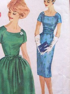 Finished Project & Pattern Review: Vintage Simplicity 3222, Hot Pink Party Dress. ~ Sew Me Love