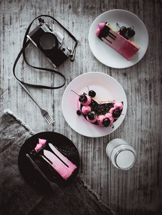 FAVORITE VANILLA, CHOCOLATE AND CHERRY CAKE { CHOCOLATE GLAZE RECIPE }