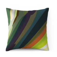 Garden 1 by Parris Wakefield Additions  100% cotton satin cushion  with a natural feather pad  size 43 x 43cm    Designed and Made in Britain