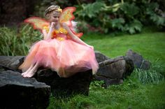 Iridessa Fairy Tutu Dress Costume by Ella Dynae, $210.00 #disney #tinkerbell #wings