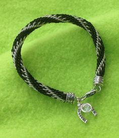 Nicole Custom horse hair bracelet. $49.00, via Etsy.