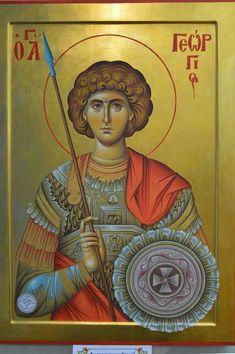 Roman Church, Byzantine Icons, Orthodox Christianity, Religious Icons, Saint George, Orthodox Icons, Saints, Catholic, Religion