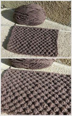 C'est quoi ça astrakan ? Alors les tricoteuses connaissent je pense ? c'est un joli point de tricot ! J'ai pas mal galèré à tricoter, detricoter, retricoter ... 5 ou 6 fois avant de venir à bout de ce point. Donc voilà ce que ça donne : Point d'Astrakan...