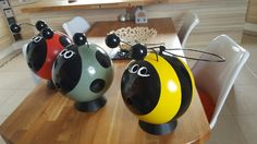 Bumble bee and friends
