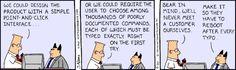 Dilbert classic #ui #ux