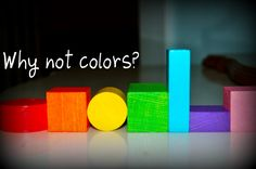 When's a good time to teach your child colors?