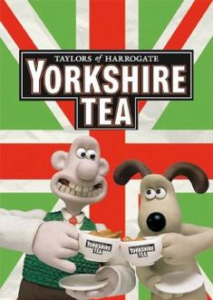 Even Wallace and Gromit love Yorkshire tea.