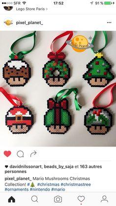 Christmas mushrooms