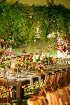 Romantic Beach Wedding in Maui | An enchanting reception from our beautiful featured wedding.