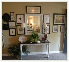 155 dream lane: Entryway DONE for Now...love every inch of this.